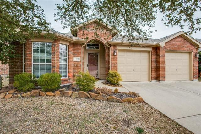415 Butternut Drive, Fate, TX 75087 (MLS #14038440) :: RE/MAX Landmark
