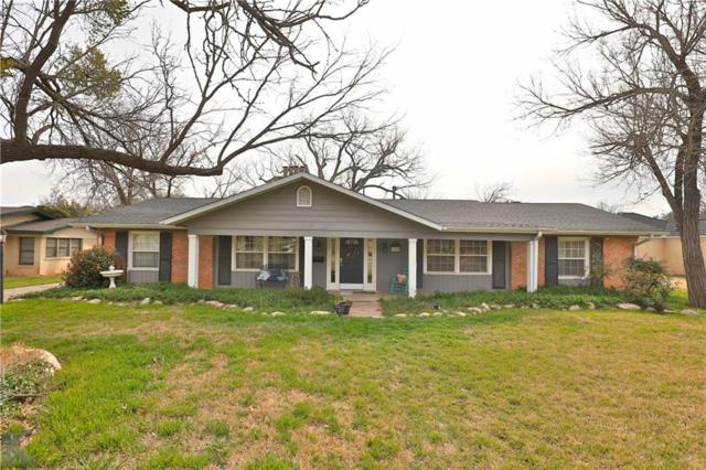 1609 Sylvan Drive, Abilene, TX 79605 (MLS #14038695) :: RE/MAX Town & Country