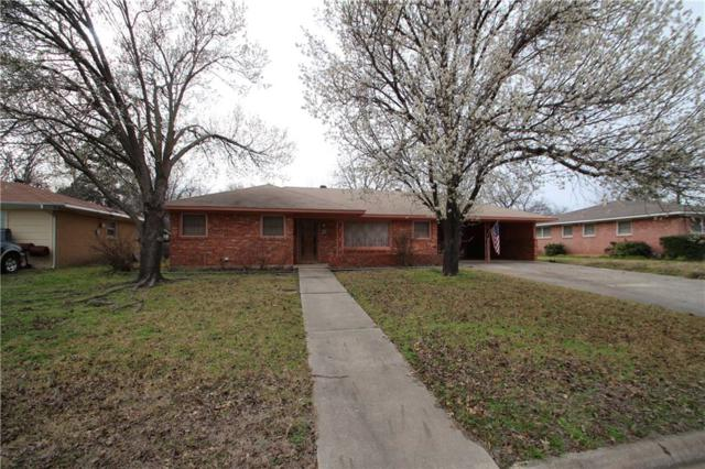 1205 Magnolia Street, Gainesville, TX 76240 (MLS #14039365) :: The Heyl Group at Keller Williams