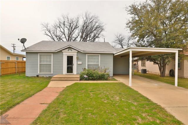 1210 Ross Avenue, Abilene, TX 79605 (MLS #14039774) :: Century 21 Judge Fite Company