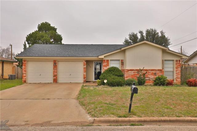5410 Teresa Lane, Abilene, TX 79606 (MLS #14039909) :: RE/MAX Town & Country