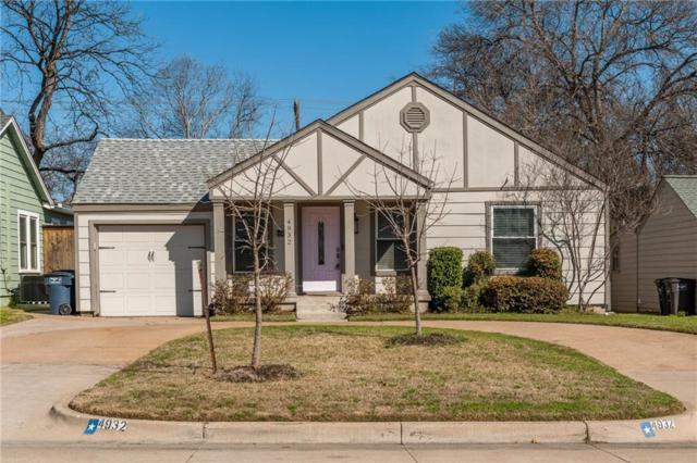4932 Birchman Avenue, Fort Worth, TX 76107 (MLS #14040647) :: The Chad Smith Team