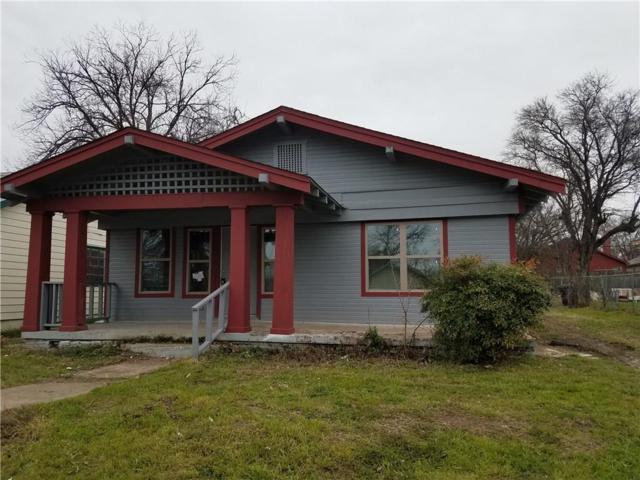1101 E Richmond Avenue, Fort Worth, TX 76104 (MLS #14041055) :: Robbins Real Estate Group