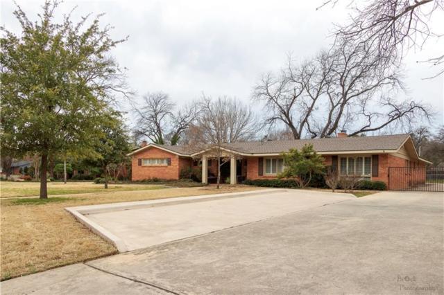 1610 Elmwood Drive, Abilene, TX 79605 (MLS #14041181) :: The Heyl Group at Keller Williams