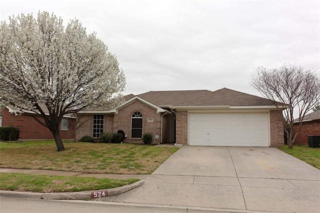 524 Brandy Court, Saginaw, TX 76179 (MLS #14041599) :: Robbins Real Estate Group