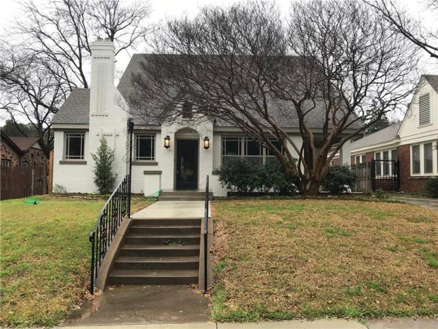 2725 6th Avenue, Fort Worth, TX 76110 (MLS #14041762) :: RE/MAX Town & Country
