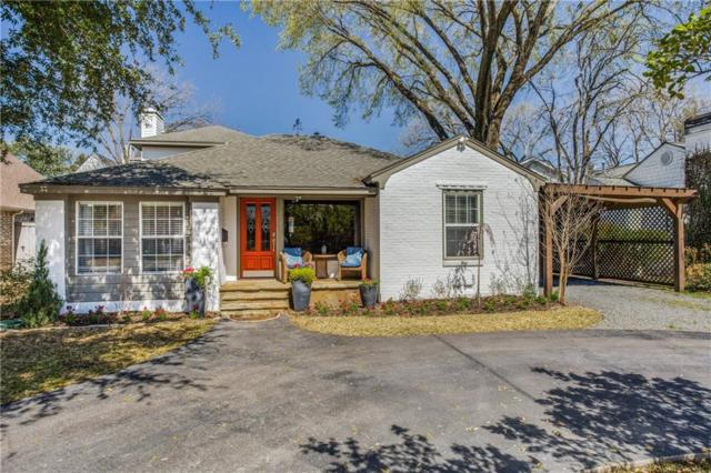 5631 Southwestern Boulevard, Dallas, TX 75209 (MLS #14041784) :: Kimberly Davis & Associates