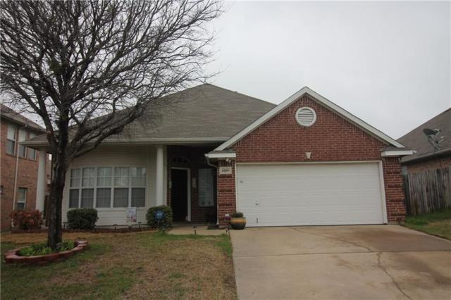 6209 Reddenson Drive, Fort Worth, TX 76132 (MLS #14042157) :: RE/MAX Town & Country
