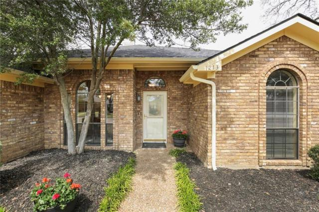 1213 Indian Paint Trail, Lewisville, TX 75067 (MLS #14042213) :: Roberts Real Estate Group