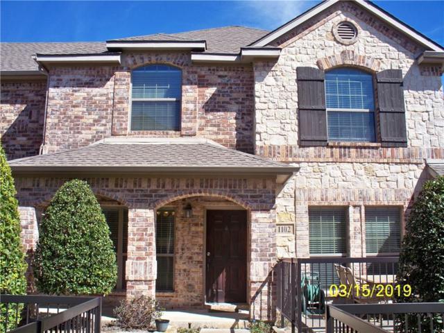 3075 Willow Grove Boulevard #1102, Mckinney, TX 75070 (MLS #14042603) :: Team Hodnett