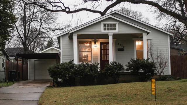 3729 Byers Avenue, Fort Worth, TX 76107 (MLS #14042616) :: The Mitchell Group