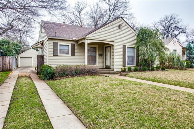 3823 Pershing Avenue, Fort Worth, TX 76107 (MLS #14042877) :: Real Estate By Design