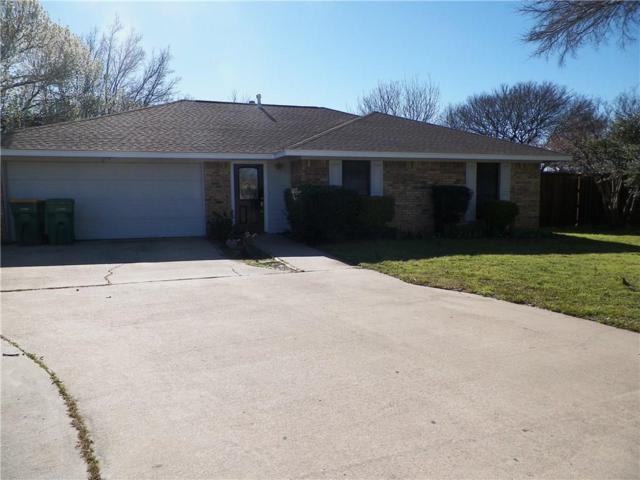 1638 Highpoint Drive, Lewisville, TX 75077 (MLS #14042998) :: Team Tiller