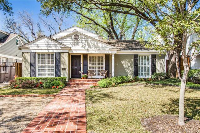 3908 Amherst Avenue, University Park, TX 75225 (MLS #14043189) :: RE/MAX Town & Country