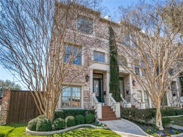 4041 Throckmorton Street, Dallas, TX 75219 (MLS #14043312) :: The Mitchell Group
