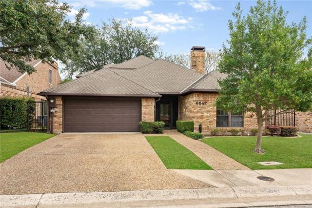6547 Brook Lake Drive, Dallas, TX 75248 (MLS #14043401) :: The Mitchell Group