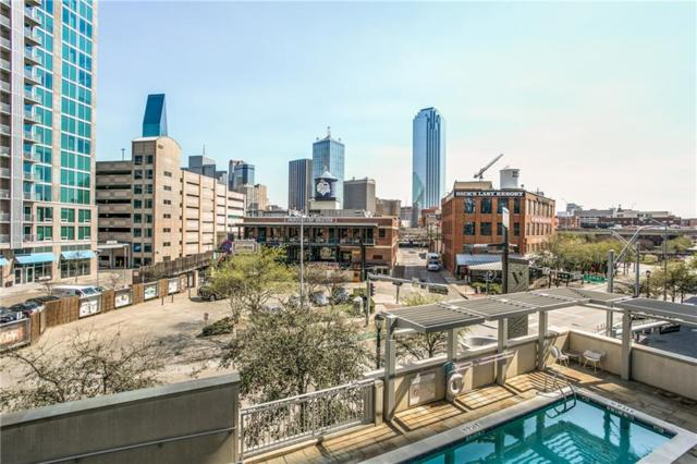 2323 N Houston Street N #310, Dallas, TX 75219 (MLS #14043587) :: HergGroup Dallas-Fort Worth