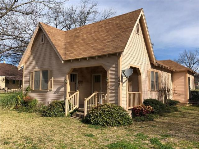 409 W Henry, Hamilton, TX 76531 (MLS #14043796) :: RE/MAX Town & Country