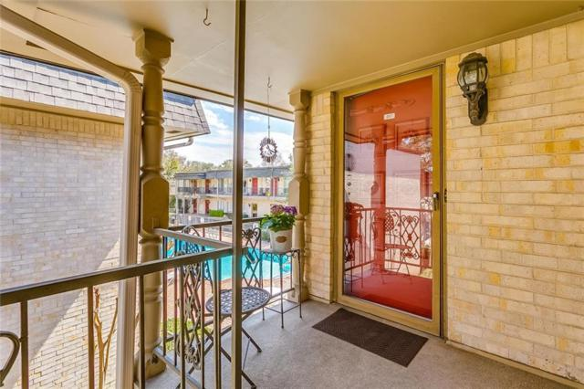 4320 Bellaire Drive S #217, Fort Worth, TX 76109 (MLS #14043917) :: The Mitchell Group