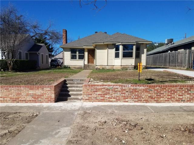 4904 Pershing Avenue, Fort Worth, TX 76107 (MLS #14044008) :: The Chad Smith Team