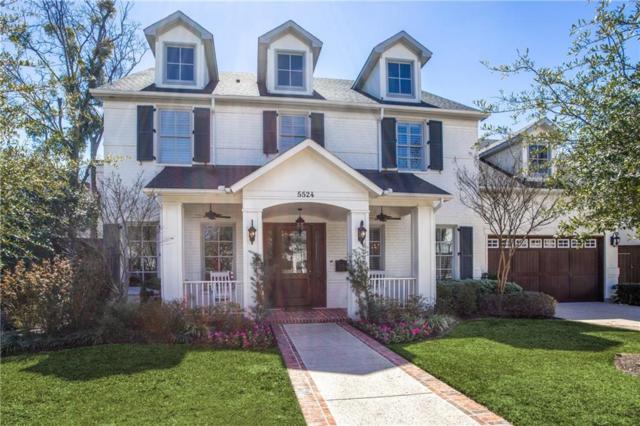 5524 Southwestern Boulevard, Dallas, TX 75209 (MLS #14044174) :: The Good Home Team