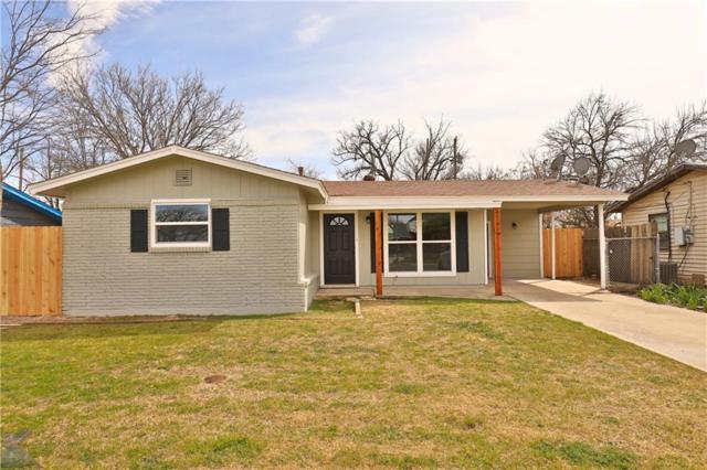 2509 S 27th Street, Abilene, TX 79605 (MLS #14044363) :: The Daniel Team