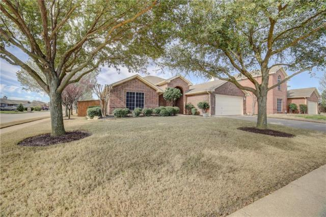 201 Ute Creek Court, Burleson, TX 76028 (MLS #14044778) :: The Sarah Padgett Team