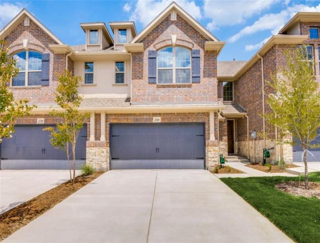 2967 Stunning Drive, Little Elm, TX 75068 (MLS #14044971) :: Team Tiller