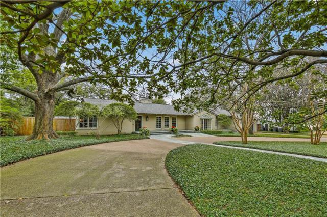 5322 Wateka Drive, Dallas, TX 75209 (MLS #14045003) :: RE/MAX Town & Country