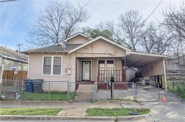 206 N Patton Avenue, Dallas, TX 75203 (MLS #14045019) :: The Good Home Team