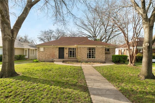 6036 Marquita Avenue, Dallas, TX 75206 (MLS #14045100) :: HergGroup Dallas-Fort Worth