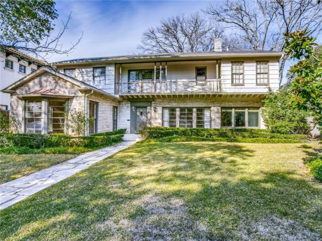 4408 Lorraine Avenue, Highland Park, TX 75205 (MLS #14045116) :: Real Estate By Design