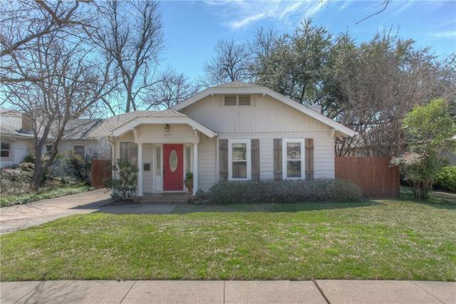 5117 Byers Avenue, Fort Worth, TX 76107 (MLS #14045192) :: The Chad Smith Team