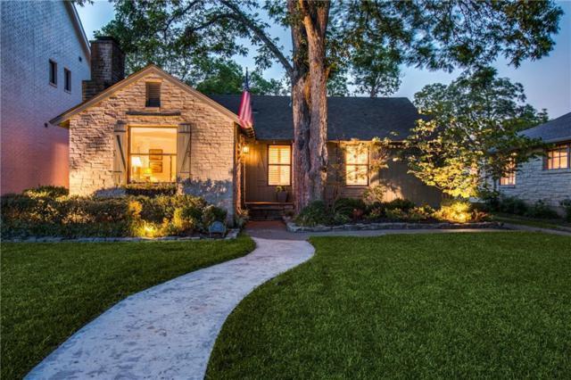 5517 W Hanover Avenue, Dallas, TX 75209 (MLS #14045199) :: The Good Home Team