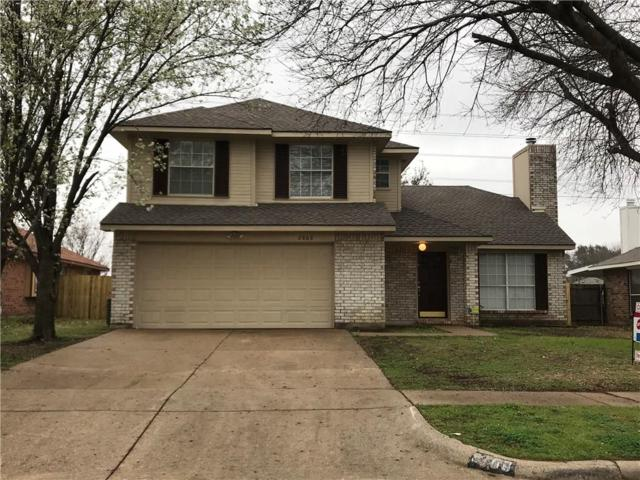 2868 Red Oak Drive, Grand Prairie, TX 75052 (MLS #14045246) :: The Tierny Jordan Network