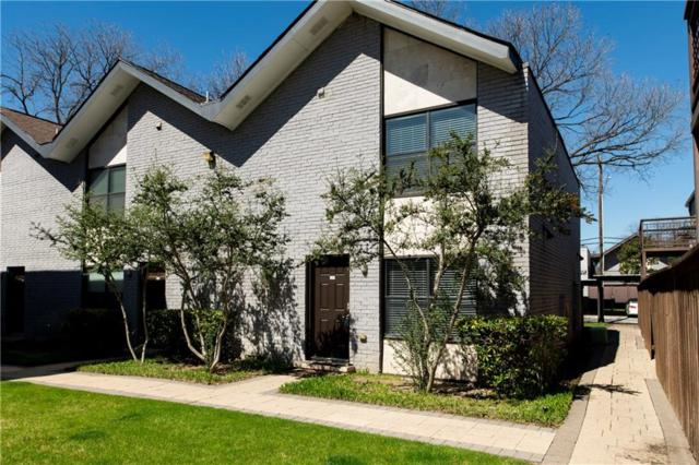2722 Knight Street 119D, Dallas, TX 75219 (MLS #14045315) :: Lynn Wilson with Keller Williams DFW/Southlake