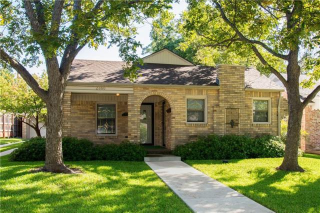 2860 Alden Avenue, Dallas, TX 75211 (MLS #14045555) :: Team Tiller