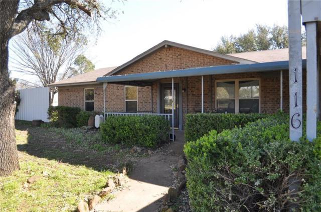 116 Eastridge Drive, Springtown, TX 76082 (MLS #14045592) :: RE/MAX Town & Country