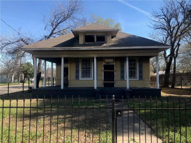 1816 Peabody Avenue, Dallas, TX 75215 (MLS #14045625) :: All Cities USA Realty