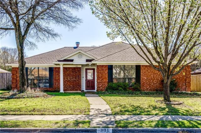 301 S Alder Drive, Allen, TX 75002 (MLS #14045794) :: The Good Home Team