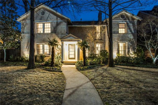 4545 Fairway Avenue, Highland Park, TX 75219 (MLS #14046313) :: Robbins Real Estate Group