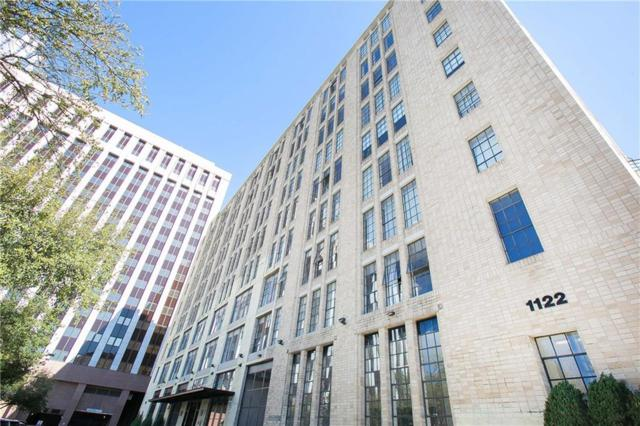 1122 Jackson Street #512, Dallas, TX 75202 (MLS #14046392) :: HergGroup Dallas-Fort Worth