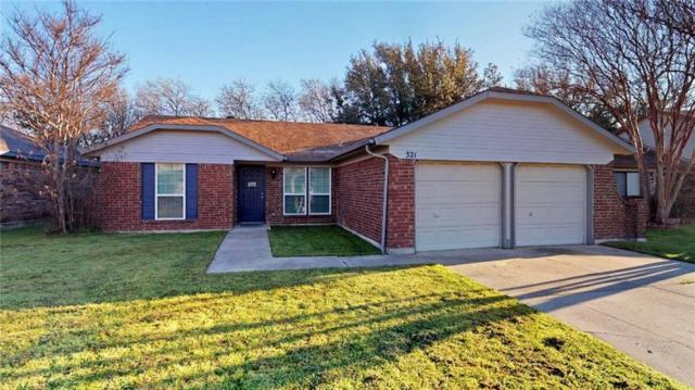 321 Iberis Drive, Arlington, TX 76018 (MLS #14046404) :: RE/MAX Landmark