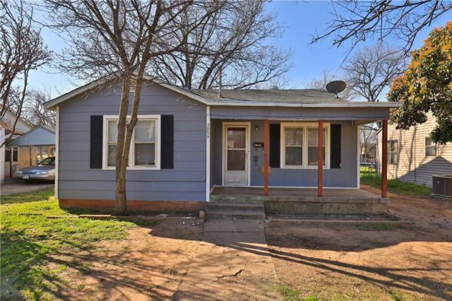 2809 S 6th, Abilene, TX 79605 (MLS #14046429) :: The Heyl Group at Keller Williams
