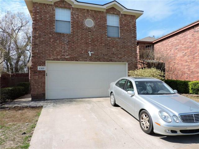 1309 Deville Circle, Garland, TX 75043 (MLS #14046531) :: The Good Home Team