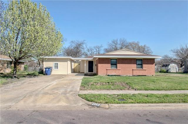 2553 Maverick Avenue, Dallas, TX 75228 (MLS #14046571) :: The Heyl Group at Keller Williams