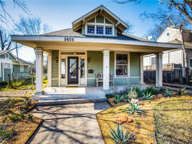 5605 Worth Street, Dallas, TX 75214 (MLS #14046581) :: Robbins Real Estate Group