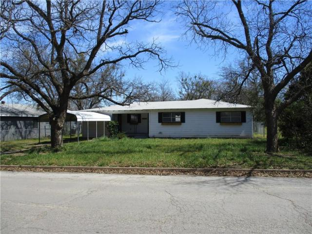 204 S Hillcrest, Eastland, TX 76448 (MLS #14046588) :: RE/MAX Town & Country