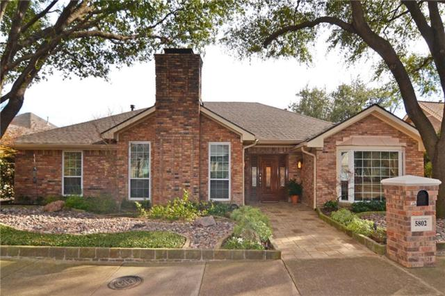 5802 Over Downs Drive, Dallas, TX 75230 (MLS #14046629) :: Robbins Real Estate Group