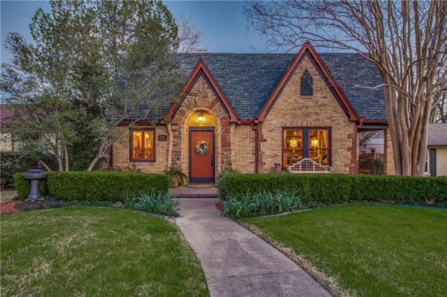 6914 Vivian Avenue, Dallas, TX 75223 (MLS #14046654) :: RE/MAX Town & Country